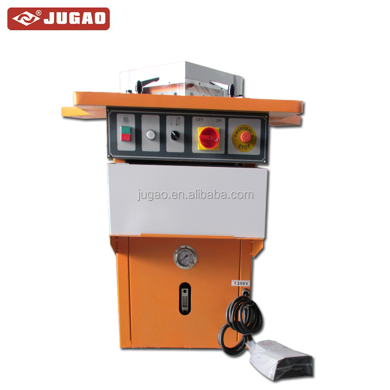 Hydraulic notching machine for steel stainless hole making