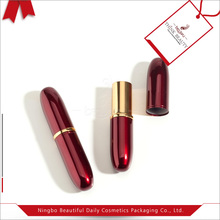 Wholesale lipstick packaging, Aluminum empty lipstick container
