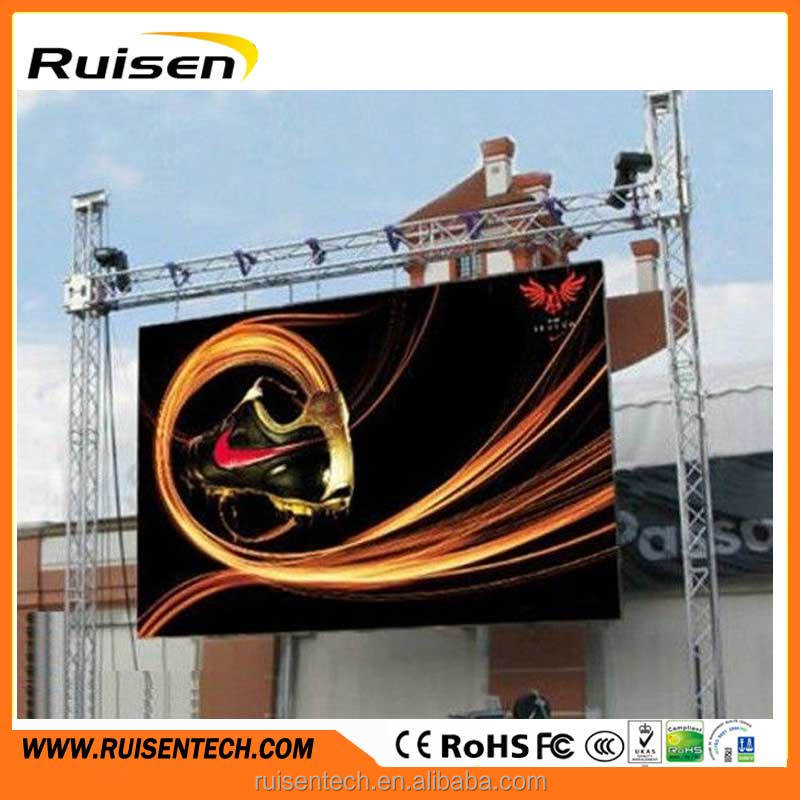 LED Display screen wall board marquee sign tv panel cre monitor light video wall videowall open electric signs message billboard
