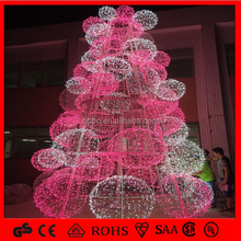 2015 Manufacturer Hot Sale with Quality and Waterproof Warn Color Christmas Tree with Ball for Commercial/Festival Decoration