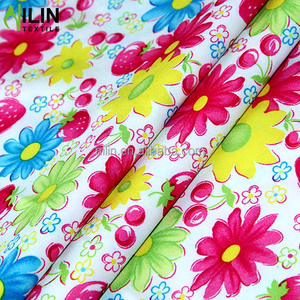 4 way stretched polyester spandex blend fabric