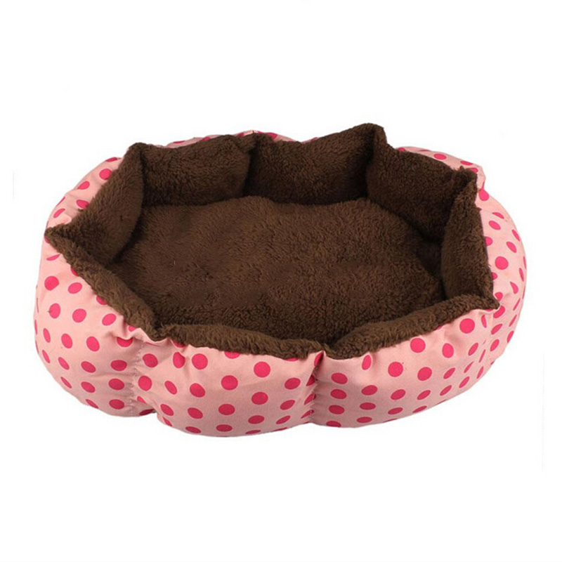cheap price low MOQ manufacturer top one pet bed custom lucky pink bunty dog bed