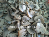 Newest crop frozen champion mushroom slice