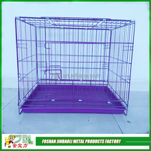 high quality violet color pet cages iron dog cage