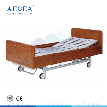 AG-BM203 two functions with one ss height adjustable I.V pole electrical hospital bed
