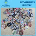 Wholesale two holes fabric covered button for garment accessories