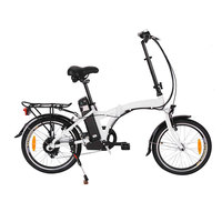 Low price Brushless 24V-36V 250w motor battery folding electric bike for electric bicycle
