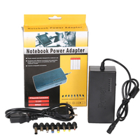 96W universal laptop notebook ac power charger adapter with 8 charging connector tips