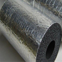 Foam rubber thermal insulation materials