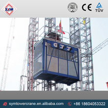 gjj sc200/200 construction kato hoist of shijiazhuang hongda sanitary products factory