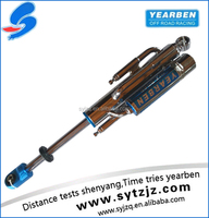 Performance gas bypass shock absorber for car