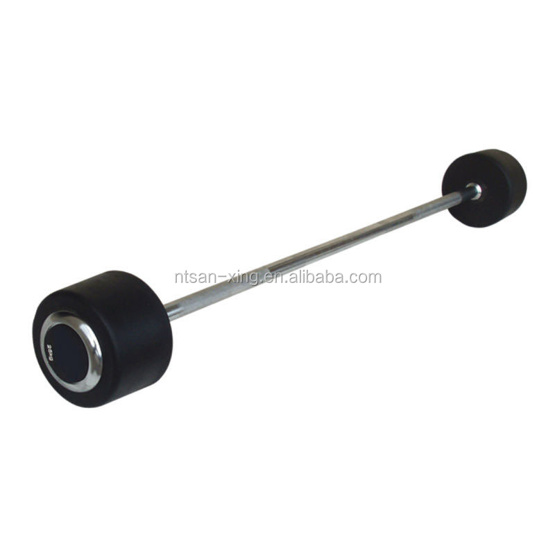 Fixed Rubber Barbell