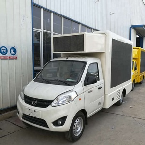 Small Led Billboard Advertising Mobile Truck