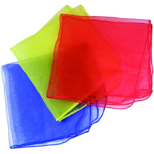 Square shape customized size magic balance juggling scarves for children
