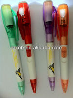hot sale high quality LED light pen imprint client logo 1000pcs free shipping