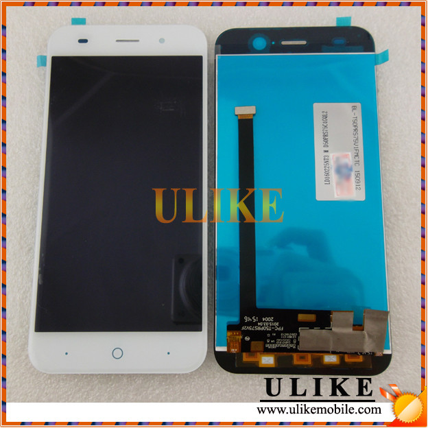 Replacement LCD Touch Screen Assembly for ZTE Blade V6 White