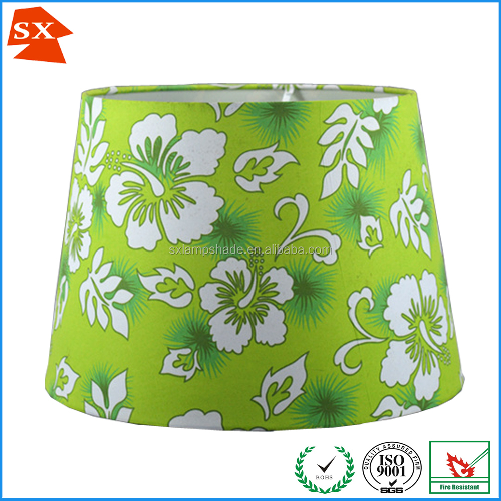 rice paper handmade plastic lamp cover wire frames flat glass lamp shade