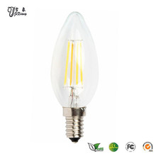 fancy low power high lumen candle lighting bulb indoor lamp bulb LED