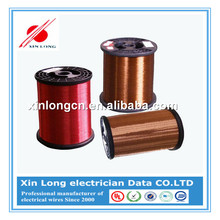 Self Bonding AWG Gauge Polyimide Insulated Copper Wire For Winding Transform