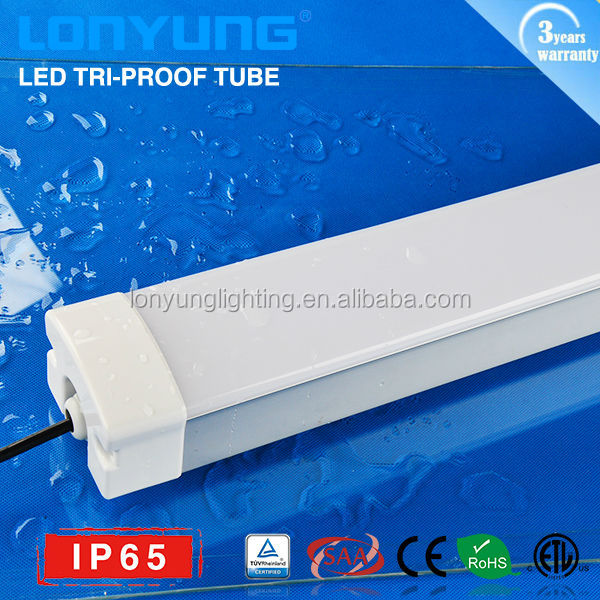 Factory Direct sale !! IP65 Tri-proof LED Light 50w 60w lamp tube 1500mm 5foot waterproof outdoor wall light
