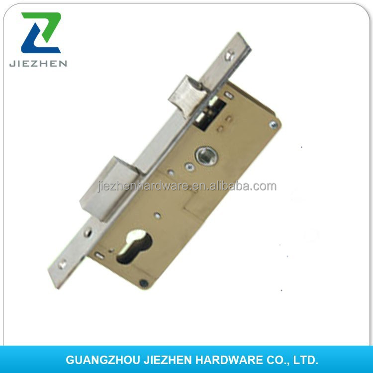 round square forend striker magnetic night latch dead bolt backset handle european key door French mortise lock