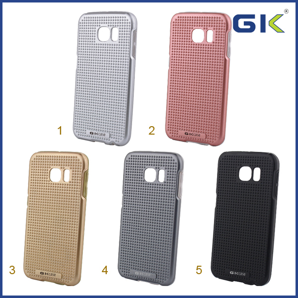 [GGIT] Massage dots TPU PC Case Cover for Samsung S6
