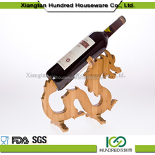 wholesale wooden single bottle wine rack
