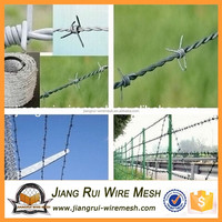 high quality low carbon galvanized barbed wire