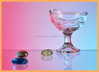 glass bowl wholesale stem dessert glass bowl safe to contact food new products glass ice cream bowl