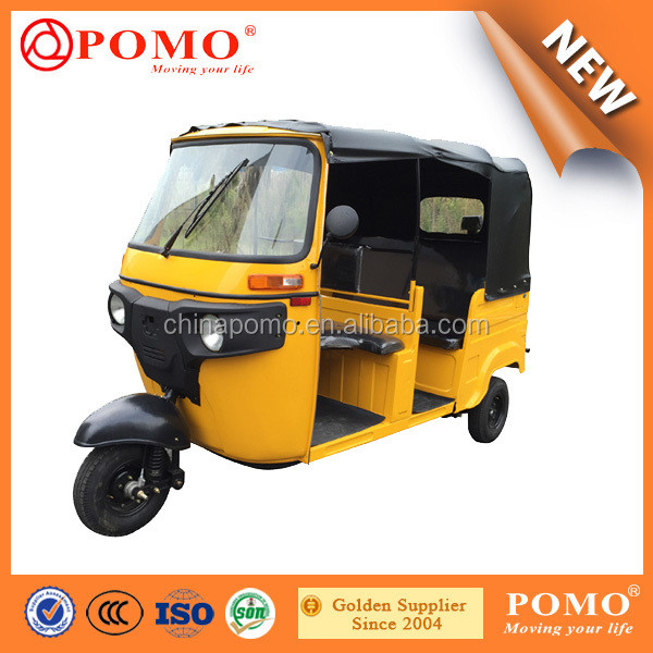 175cc Sightseeing Low Vibration Three Wheel Passenger Tricycle