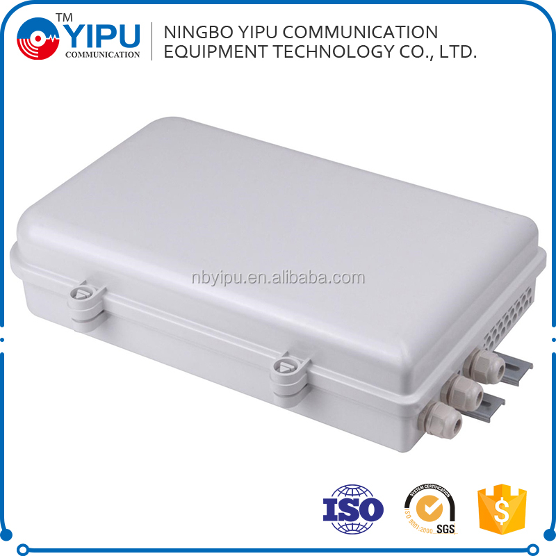 24 Cores Distribution Box/1*16 Plc Splitter Box/ Ftth Fiber Termination Box Outdoor Ip65 Fdb