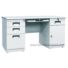 Office Table with Cabinet Design,Metal computer table design with study table,Steel workshop table