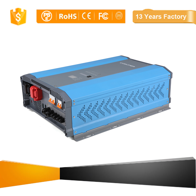 Intelligent dc/ac power inverter 12000 Watt inverter 48V 230V