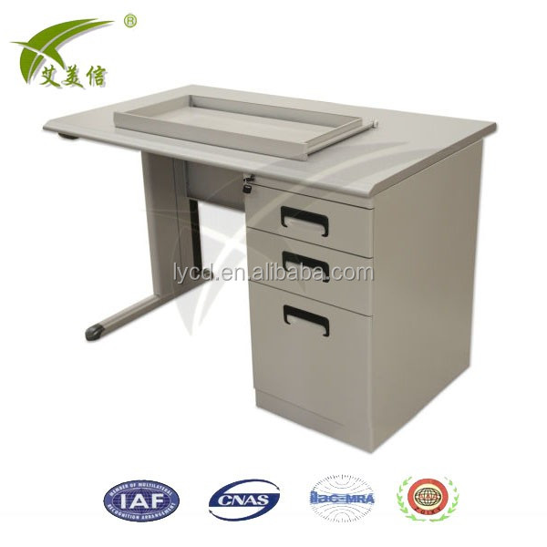 Luoyang Simple Style Steel Computer Table Metal Office Desk