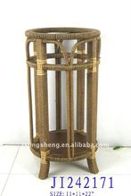 Wooden and rattan umbrella holder products