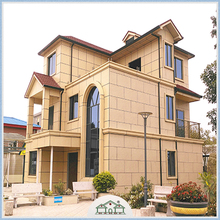 Wind Resistance Prebuilt Villa Galvanized Standard Home Building Small House