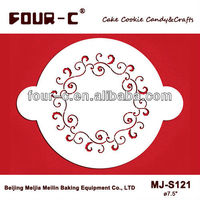 Cake Decor Stencils Baking Supplies