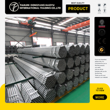 Alibaba China Supplier Steel Pipe Cheap Building Materials General Trading Company a53 Pre Galvanized Steel Pipe