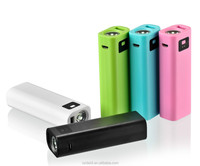 High quality powerbank LCD portable power bank with LED light