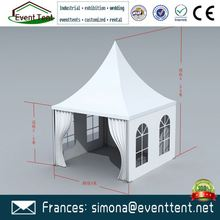 Decorated wedding gazebos outdoor pagodas aluminum frame tents for leisure and entertainment