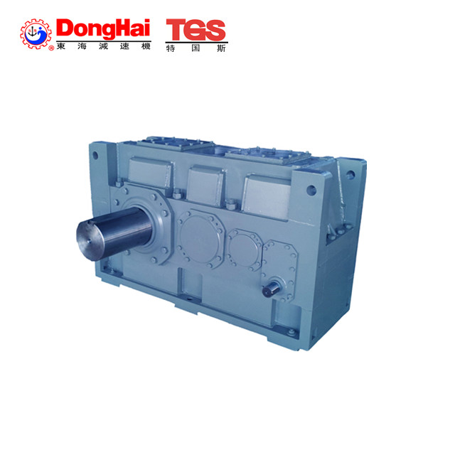 90 degree large industrial transmission gearboxes with solid shaft