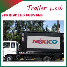 Mobile Moving LED Display Screens for Mobile Truck Screen Moving Advertisement