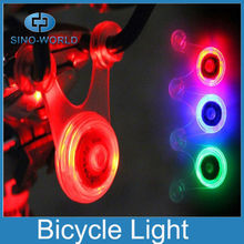 Small LED button battery operated flashing led light LED button battery operated bike rear light bicycle rear brake light