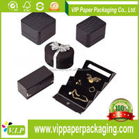 China Mobile Flashing Box Black Jewelry Box