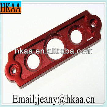 Colorful Anodizing OEM Aluminum Precision Milling part& milled machining part