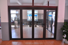 aluminum glass folding door with factory price