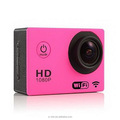 Latest hot selling 1080p sport camera, wifi remote control, 30m waterproof level