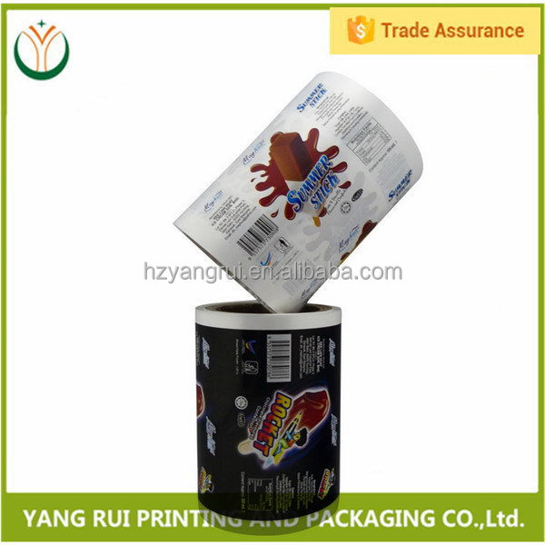 Excellent quality antique laminated aluminum packaging film,film roll plastic wrap
