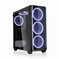 Full Transparent 2018 New Design Desktop Tower Gaming Computer Case