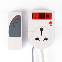 Wall Plug & Play Intelligent Digital Thermostat with Remote Controller